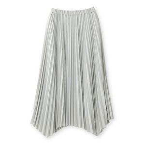 【SACRA】イレギュラーヘムアコーディオンスカート