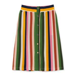 【leota】マルチカラーストライプスカート