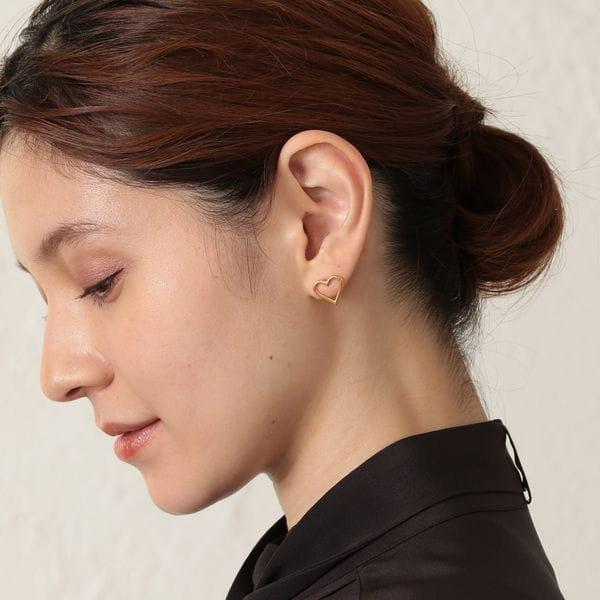 【Kara Yoo】ハートピアス