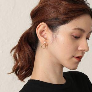 【Kara Yoo】パールコンビピアス