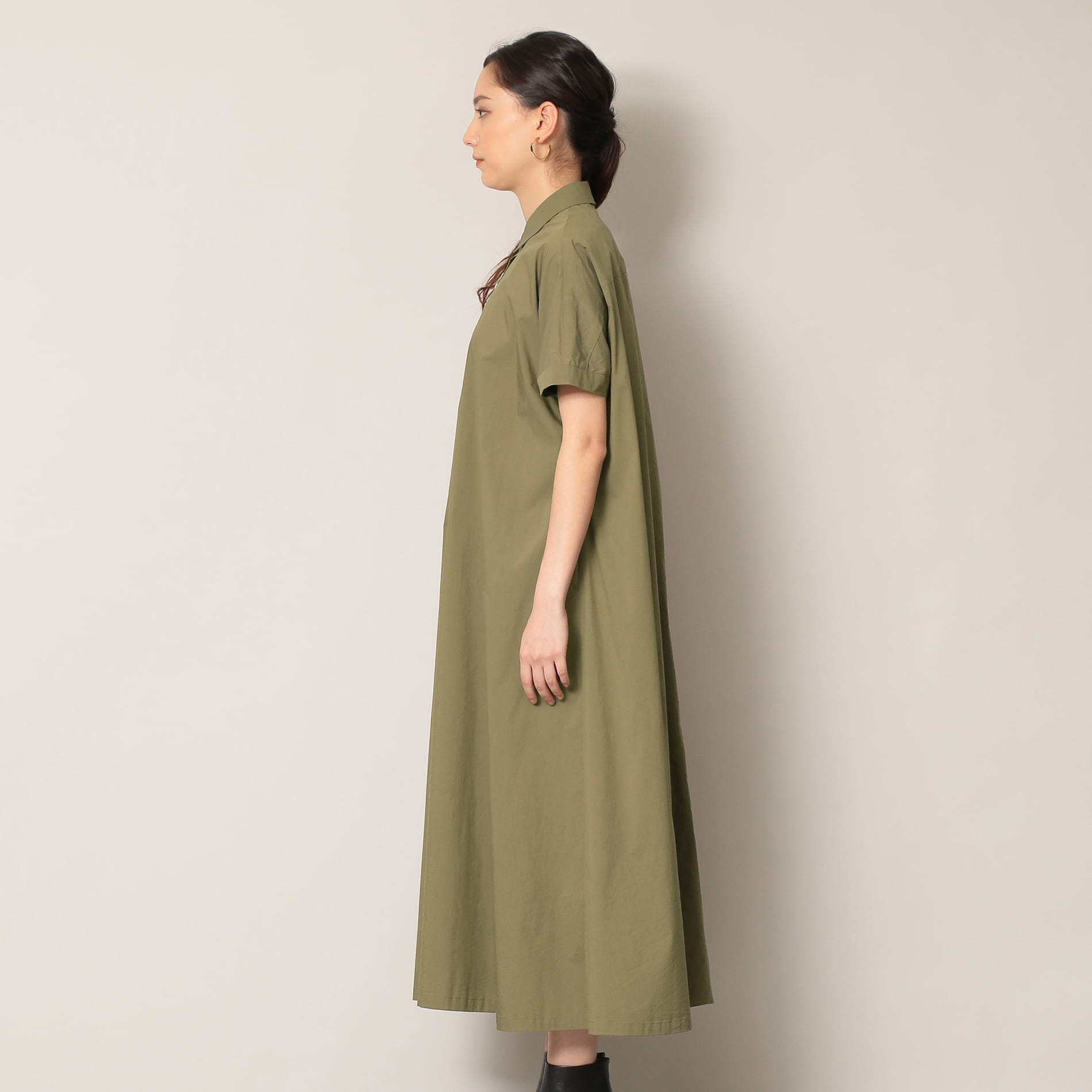 【EPOCA THE SHOP】フロントボタンシャツドレス