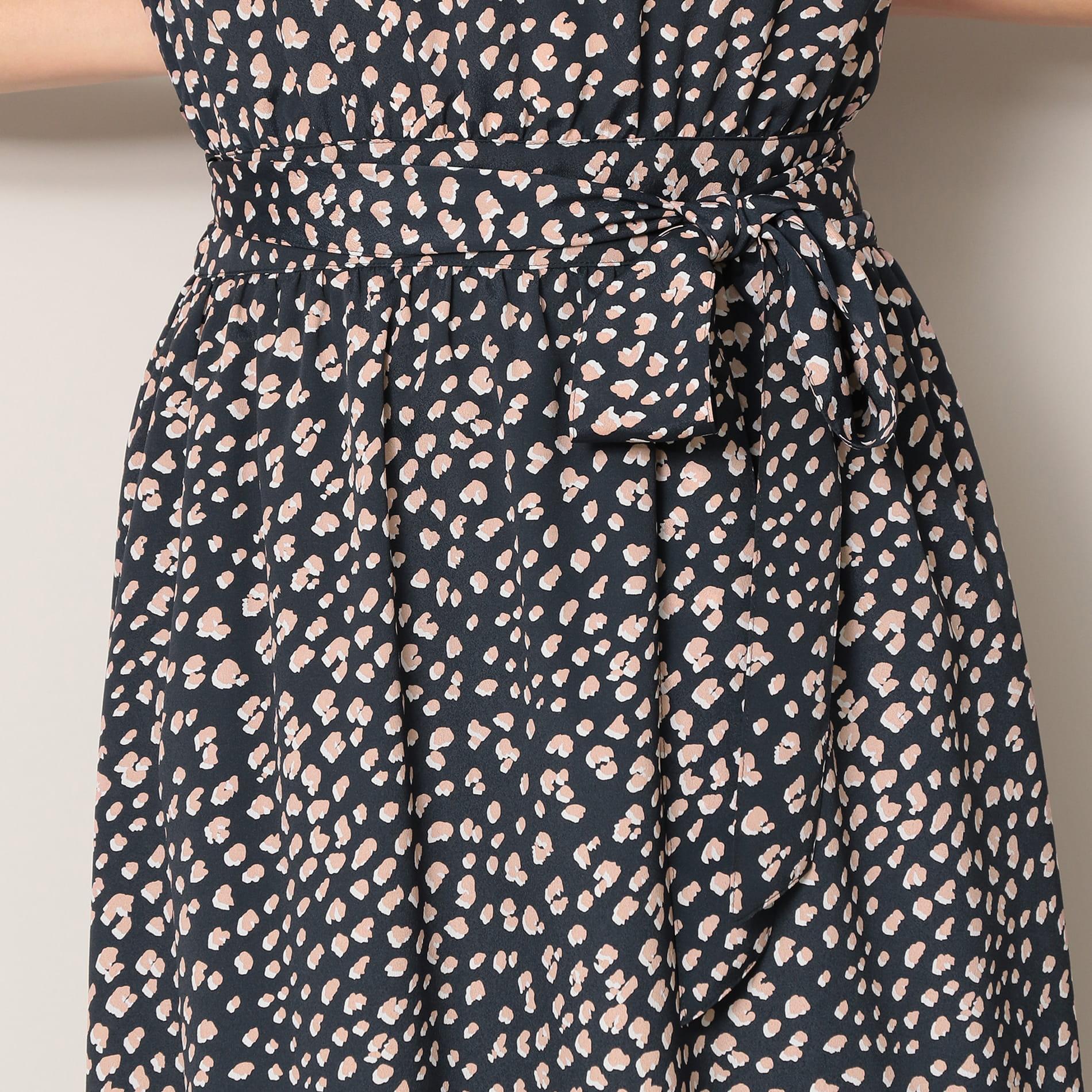【EPOCA THE SHOP】アニマルプリントドレス