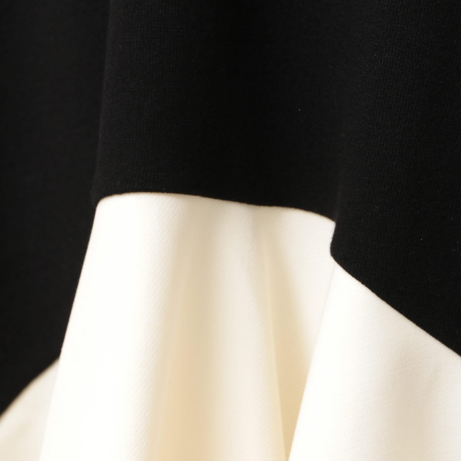 【EPOCA THE SHOP】クロスコンビニットドレス