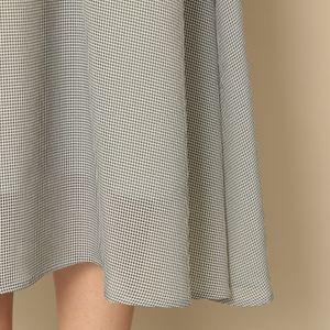 【EPOCA THE SHOP】ギンガムサッカードレス