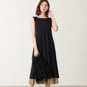 【KAME KYOKO×EPOCA THE SHOP】<2WAY>バイカラードレス