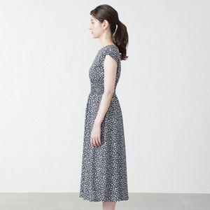 小花プリントドレス