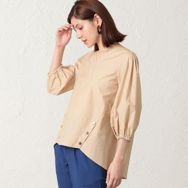 【EPOCA THE SHOP】コットンブロードシャツ