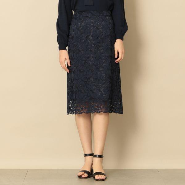 【EPOCA THE SHOP】サンシャインレーススカート