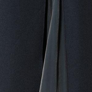 サテンコンビスリットスカート