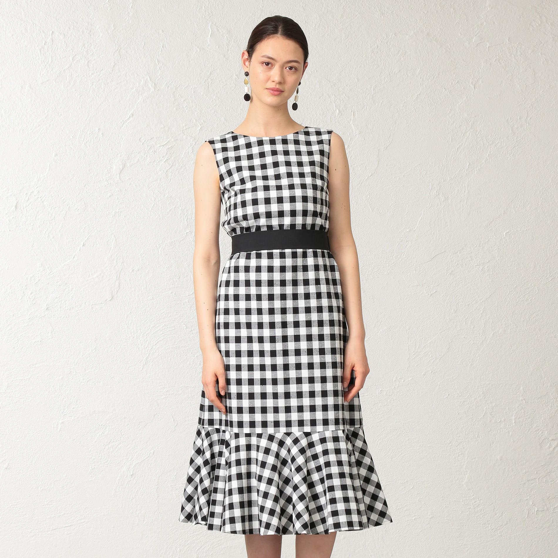 【E_EPOCA THE SHOP】ギンガムチェックドレス