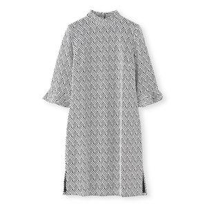 【leota】リボンジャカードドレス