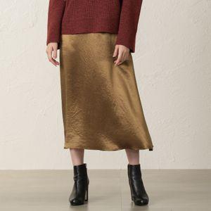 【EPOCA THE SHOP】ヴィンテージサテンスカート
